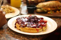 Waffle Frutos Rojos