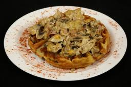 Waffle Pollo Supremo