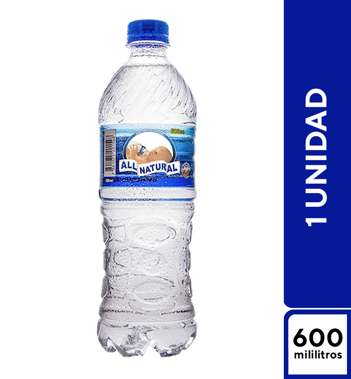 All Natural 600 ml
