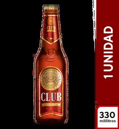 Cerveza Club Roja 330 ml