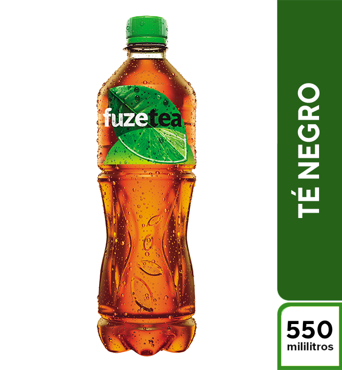 Fuze Tea Negro Limon 550 mL