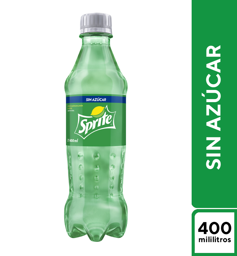 Sprite Sin Azúcar 400ml