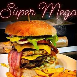 Hamburguesa Super Mega
