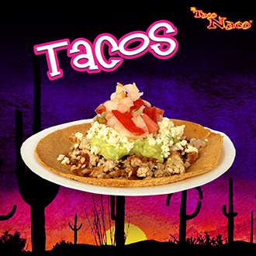 Plato de 2 Tacos