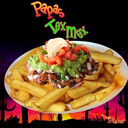 Papas Tex Mex 2 Carne