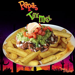 Papas Tex Mex 3 Carne