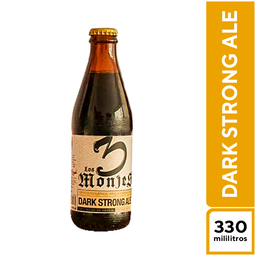 3 Monjes Dark Strong 330 ml