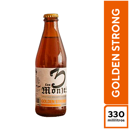 3 Monjes Golden Strong 330 ml