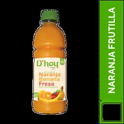 D'Hoy Naranja Frutilla 355 ml