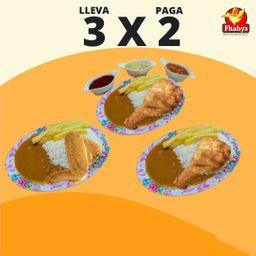 3x2 en Combo 1