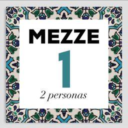 Mezze 1 Combinación para 2 Personas