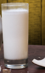 Vaso de  Jugo Coco Natural 14 Onzas