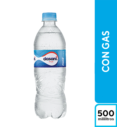 Dasani Con Gas 500 ml