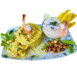 Dúos: Causa Limeña y Ceviche Mixto