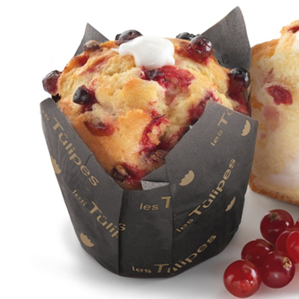 Muffin Yogurt y Cranberries