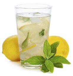 Limonada con Jengibre y Menta