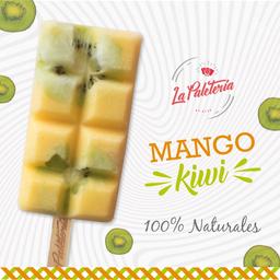 Paleta de Mango y Kiwi