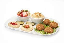 Plato Mix Gourmet Falafel Vegetariano