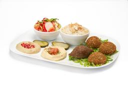 Plato Mix Gourmet Falafel y kibbi