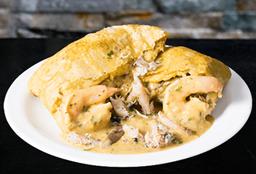 Empanada de Camarón y Cangrejo