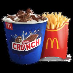 McFlurry Crunch + Papas Grandes