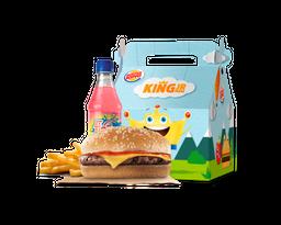 King Jr. Meal - Hamburguesa Con Queso
