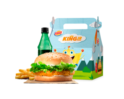 King Jr. Meal - Sanduche De Pollo