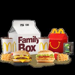 Family Box Cuarto de Libra + McPollo Deluxe
