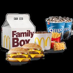 Family Box Cuarto de libra lovers