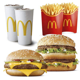 Duopack Cuarto de Libra + Big Mac