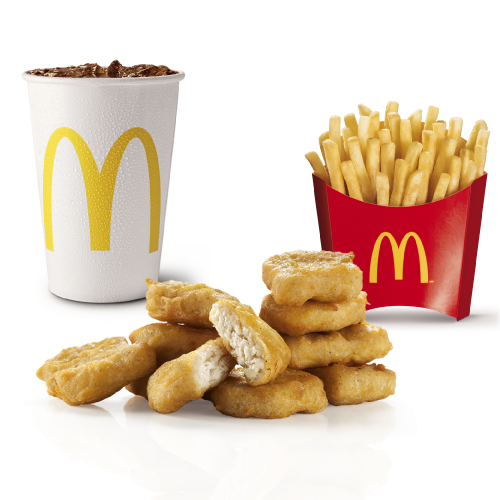 Combo Mediano Nuggets X10