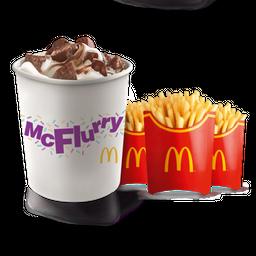 McFlurry Crunch XXL + 3 Papas Grandes