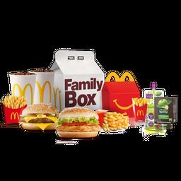 Family Box Cajita Feliz + 2 McCombos