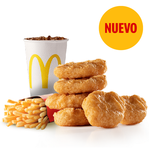 Combo Mediano McNuggets X6