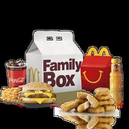 Family Box Cuarto de libra + McNuggets X10